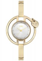 Storm - Charmella Gold, Stainless Steel with Yellow Gold Plating, White Dial Watch