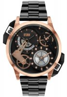 Storm - Dualon Rose Gold, Stainless Steel, Rose Gold Plated Watch