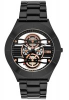 Storm - Cognition, Stainless Steel Men's Lazer Blue Watch