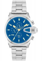 Storm - Men's, Manator Lazer Blue, Stainless Steel Blue Dial Watch