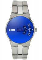 Storm - Men's, New Remi Lazer Blue, Stainless Steel Blue Dial Watch