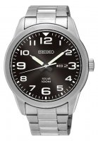 Seiko - Stainless Steel Solar Watch