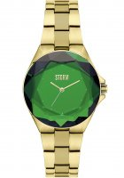 Storm - Bia, Stainless Steel Ladies Watch - Bia-Gold-Green