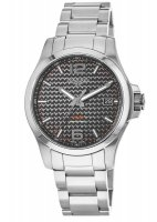 Longines - Conquest, Stainless Steel - Crystal Glass - Carbon Fibre Quartz watch, Size 40mm