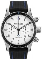 Bremont - ALT1-C, Stainless Steel - Leather - Chronograph , Size 43mm