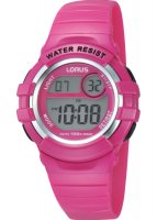 Lorus - Kids, Pink Digital Watch