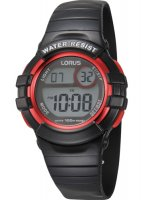 Lorus - Kids Black Plastic Digital Watch