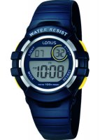 Lorus - Kids Blue Plastic Digital Watch