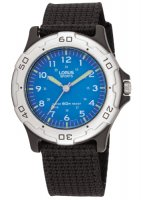 Lorus - Kids Black Canvas Strap Watch