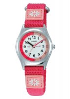Lorus - Kids, Raspberry Canvas Strap Time Teacher Watch