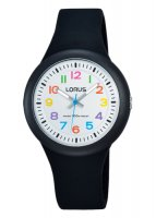 Lorus - Kids Black Silicone Strap Watch
