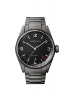 Georg Jensen - Delta Classic, Stainless Steel - Crystal Glass - Automatic Mechanical Watch, Size 42mm