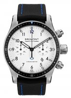 Bremont - Supermarine, Stainless Steel/Tungsten - Leather - Automatic, Size 40mm