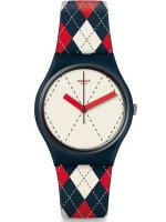 Swatch - Socquette, Silicone Strap Watch