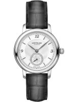 Montblanc - Star Legacy, Dia 0.056ct Set, Leather - Stainless Steel - Automatic Watch, Size 32mm