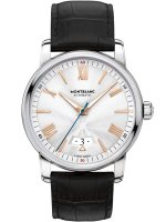 Montblanc - 4810, Leather - Stainless Steel - Crystal Glass Automatic Watch, Size 42mm
