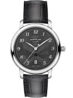 Montblanc - Star Legacy, Leather - Stainless Steel - Automatic Watch, Size 39mm