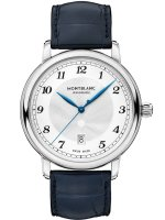 Montblanc - Star Legacy, Leather - Stainless Steel - Automatic Watch, Size 42mm