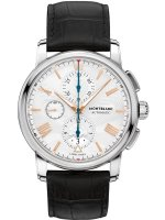 Montblanc - 4810, Leather - Stainless Steel - Automatic Watch, Size 43mm