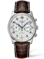 Longines - Master, Stainless Steel - Leather - Automatic Watch, Size 40mm