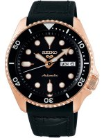 Seiko - Seiko 5, Rose Gold Plated Automatic Watch