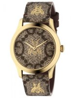 Gucci - G-Timeless, Yellow Gold Plated Bee Quartz Watch