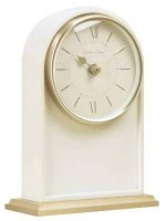 London Clock - Heritage , Cream Tall Arch Mantel Clock Mantel Clock