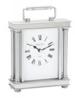 London Clock - Silver Finish Carriage Clock