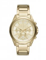 Armani Exchange - Stainless Steel Gold Chronograph Watch
