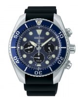 Seiko - Prospex, Stainless Steel Solar Divers Watch