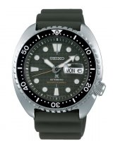 Seiko - Prospex, Stainless Steel Automatic Divers (Khaki Turtle) Watch - SRPE05K1