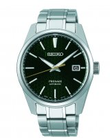 Seiko - ?Â? Presage Sharp Edged Series Stainless Steel Watch - SPB169J1