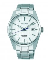 Seiko - Presage Sharp Edged Series, Stainless Steel Automatic Watch - SPB165J1