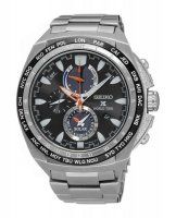 Seiko - Gents, X Prospex, World Time, Stainess Steel Chronograph Watch