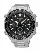 Seiko - Gents, X Prospex, Radio Sinc Solar, Stainless Steel, Chronograph Watch