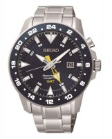 Seiko - Gents Sportura Kinetic, Stainless Steel Date Square Watch