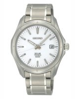 Seiko - Gents Solar Titanium, Date Square Watch