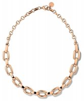 Tommy Hilfiger - Stainless Steel. Rose Gold Plated Smooth Link Necklace
