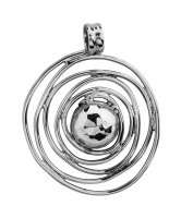 Tianguis Jackson - Sterling Silver Swirl Pendant