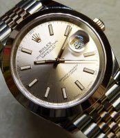 Rolex - 18ct Rose Gold Datejust Automatic Jubilee Watch