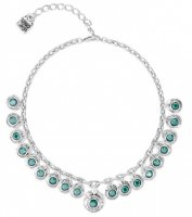 Uno de 50 - Swarovski Elements Set, Silver Plated - Tizoc Necklace