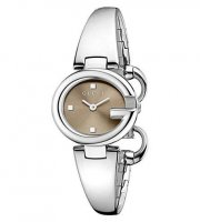Gucci - Ladie's Guccissima, Stainless Steel Watch