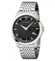 Gucci - G-Timeless, Stainless Steel Sapphire Crystal Glass Watch