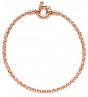Links of London - Belcher Mini, Sterling Silver With Rose Gold Vermail Bracelet