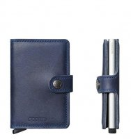Secrid - Aluminium Mini Wallet Vintage Blue