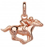 Links of London - Ascot, Sterling Silver, Rose Gold Plated Charm