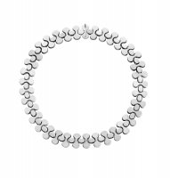 Georg Jensen - Archive, Sterling Silver Flat Link Necklace