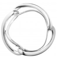Georg Jensen - Infinity, Sterling Silver - Bangle, Size M/L