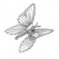 Tianguis Jackson - Sterling Silver Butterfly Brooch