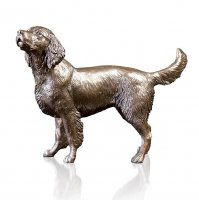 Richard Cooper - Springer Spaniel, Bronze - Ornament, Size M 1130 - 1130